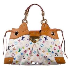 Louis Vuitton Ursula White Multicolor Shoulder Bag